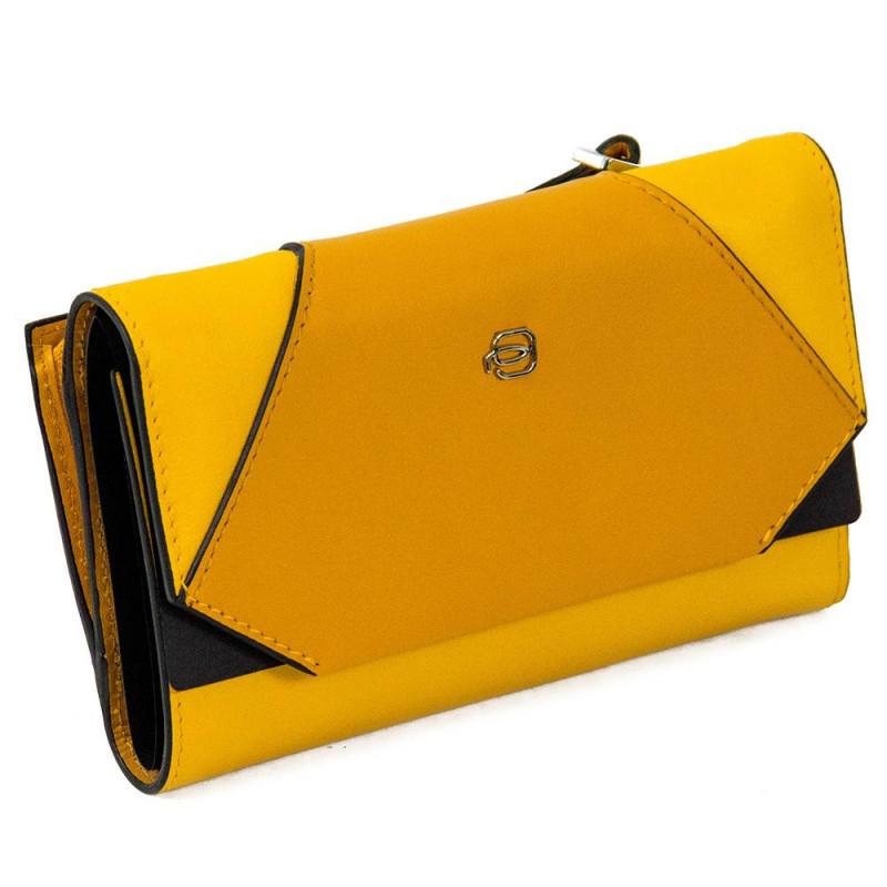 Портмоне Piquadro MUSE/Yellow PD4152MUSR_G