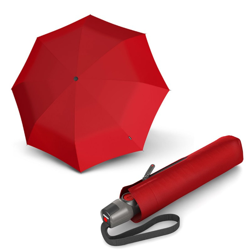 Зонт складаний Knirps T. 200 Medium Duomatic Red Kn9532001500