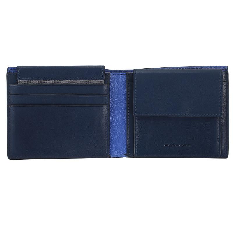 Портмоне Piquadro BOLD/Blue PU4188BOR_BLU
