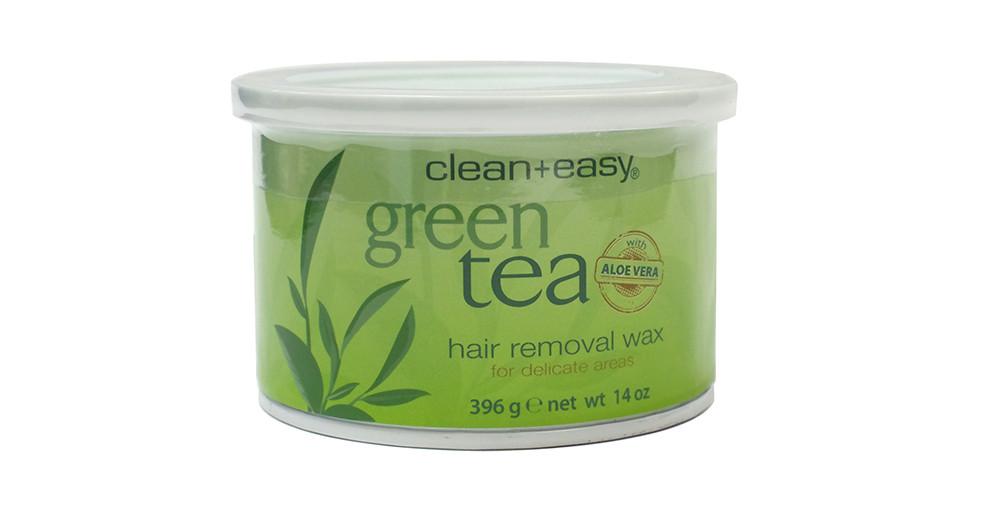 Воск для эпиляции Зеленый чай Clean&Easy
