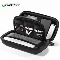 Дорожный органайзер для кабелей павербанков экшн камер кейс футляр Ugreen