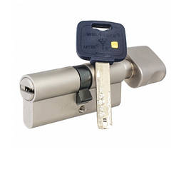 Цилиндр Mul-T-Lock MT5+ ключ/поворотник 115 мм