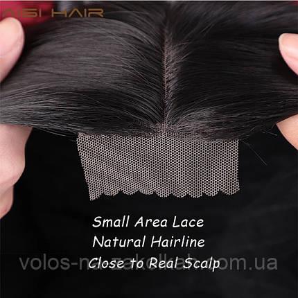 Парик омбре блонд  с клеющейся сеткой lace front, фото 2