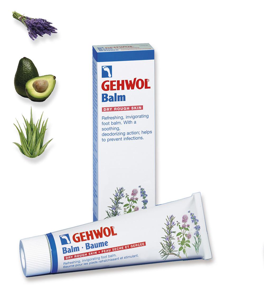 Тонизирующий бальзам Авокадо для сухой кожи 125 мл. GEHWOL