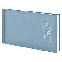 Еженедельник карманный датированный BRUNNEN 2020 Glam голубо