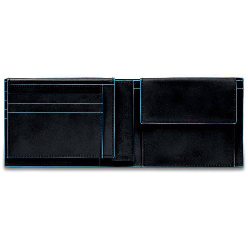 Портмоне Piquadro Blue Square/Black PU1392B2R_N