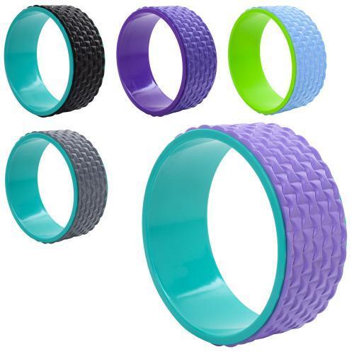 Колесо кільце для йоги та фітнесу EVA 33 х 13 см