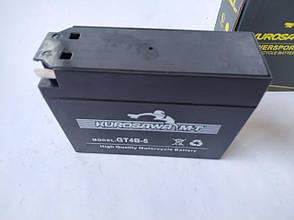 Аккумулятор 2,3A 12V YAMAHA/SUZUKI (GT4B-5) Kurosawa 112*38*87, фото 2