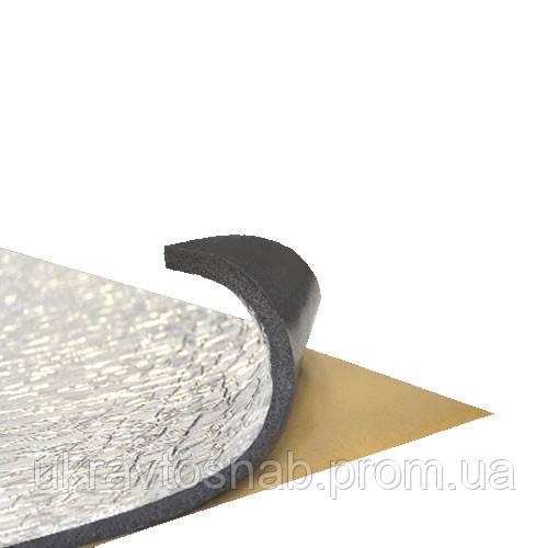 Шумоизоляция СТК SPLEN F с фольгой 8мм упаковка 15шт