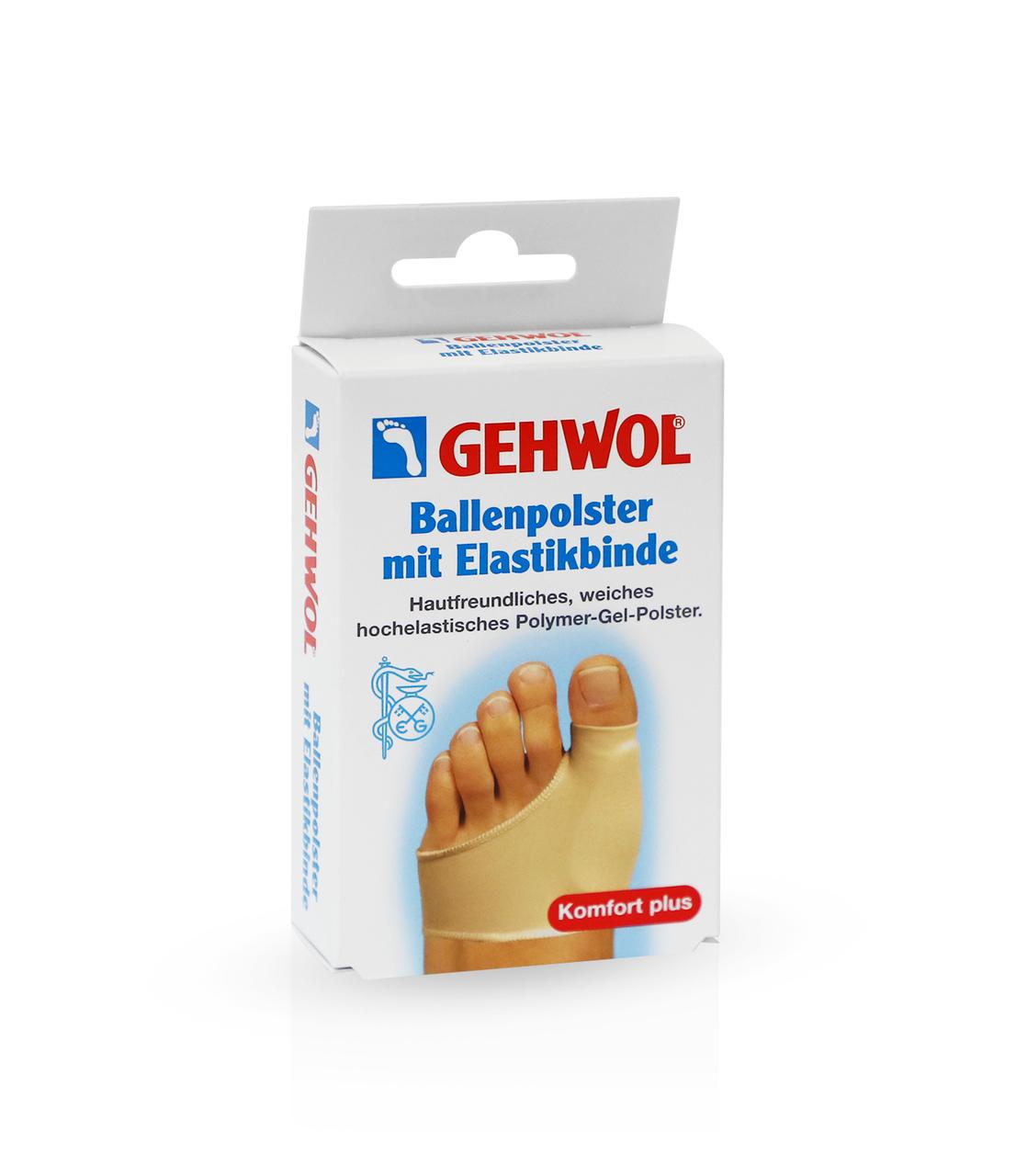 Защитная накладка на большой палец из гель-полимера и эластичной ткани GEHWOL