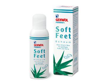 Пенка для ног «Алоэ вера и масло оливы» с гиалуроновой кислотой, 125 мл GEHWOL
