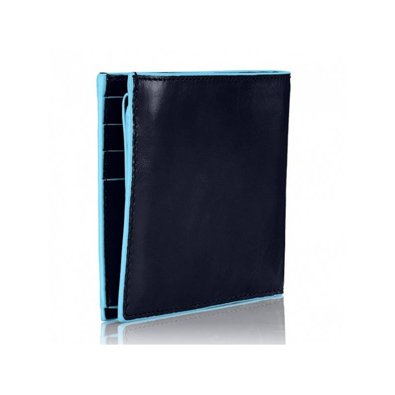 Портмоне PIQUADRO синій BL SQUARE/N. Blue PU1240B2_BLU2