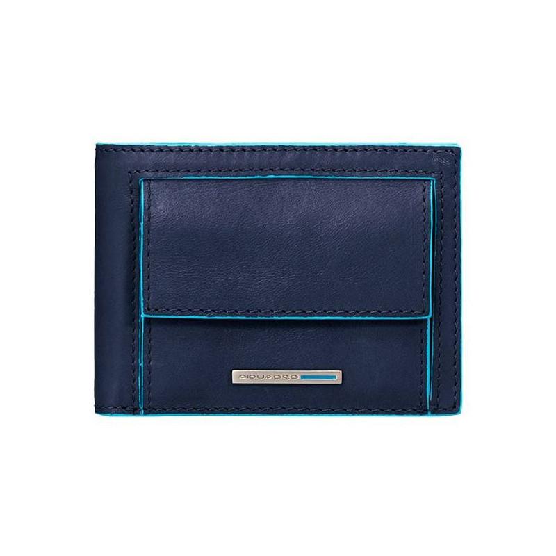 Портмоне PIQUADRO синій BL SQUARE/N. Blue PU3437B2_BLU2
