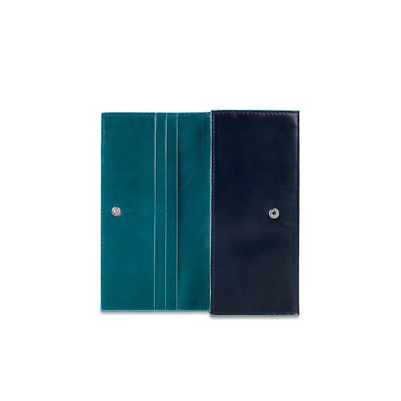 Портмоне PIQUADRO синій BL SQUARE/N. Blue-Blue PD3211B2_BLAV
