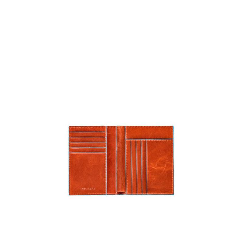 Портмоне PIQUADRO помаранчевий BL SQUARE/Orange PU1393B2_AR