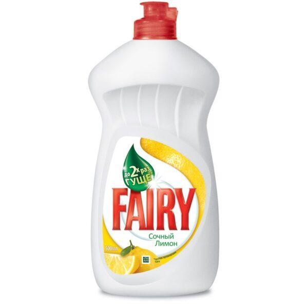 Средство для мытья посуды «Fairy» Лимон 500 мл