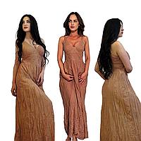 Женские Сарафаны из Хлопка Большие Размеры Производство: Индия. 100% хлопок
