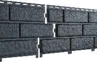 Фасадные панели U-Plast Stone House Кирпич (графитовый)