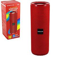 Портативная колонка BorofoneBR1 (BT,FM,MicroSD/TF,AUX,USB) красная