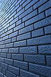 Фасадные панели U-Plast Stone House Кирпич (графитовый), фото 2