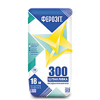 Фінішна шпаклівка на основі білого цементу Ферозіт 300 / 18