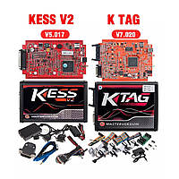 Комплект программаторов KESS v5.017 (ПО v2.47 Online) и KTAG v7.020 (ПО v2.25 Online)