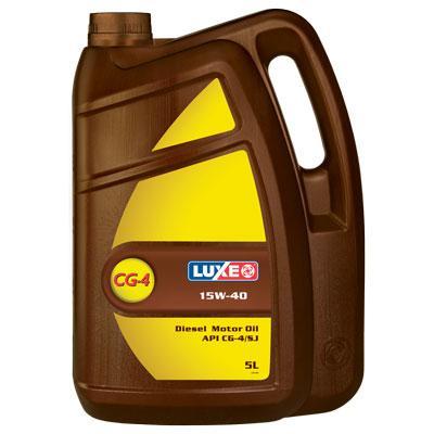 LUXE олива мот. Diesel 15w40 5 (4,2кг.)