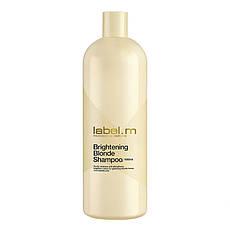 Шампунь для волос Осветляющий для Блондинок 1000 мл. label.m