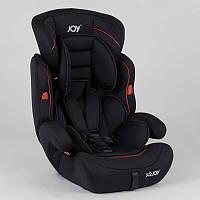 Автокресло JOY NB-2080 (4) цвет черный, универсальное от 9 до 36 кг, с бустером