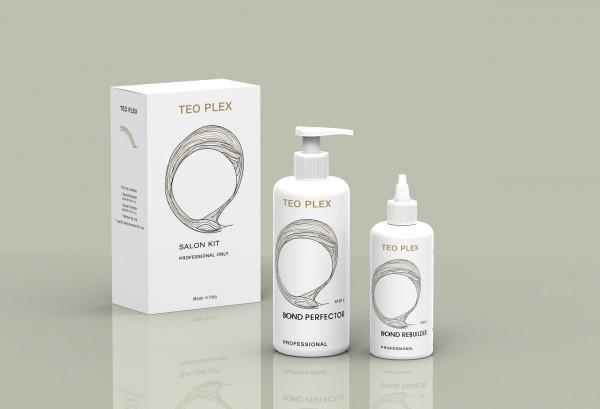 Набор для восстановления и защиты волос TEO 0200 Teo Plex (шаг1+шаг2+мерный стаканчик)