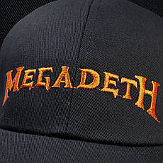 Бейсболка MEGADETH Logo, фото 3