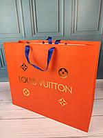 Большой фирменный пакет в стиле Louis Vuitton Луи Витон