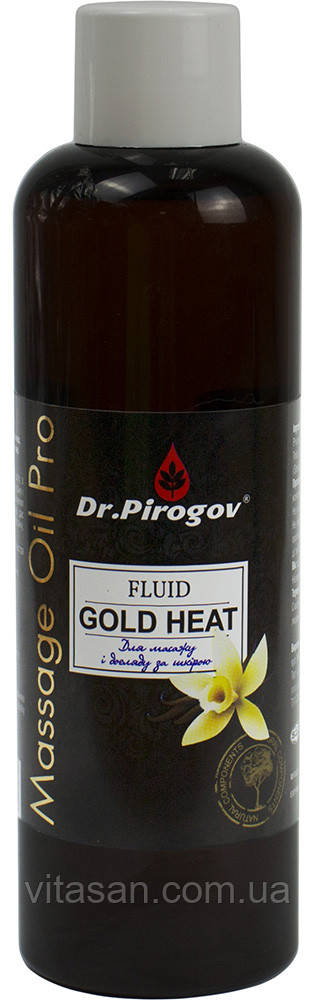 Олія для масажу FLUID GOLD HEAT ваніль