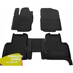 Авто коврики в салон MERCEDES X 166 (GL - class) (7мест) (GLS c 2014)