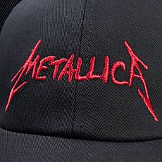 Бейсболка METALLICA 3 Red Logo, фото 3