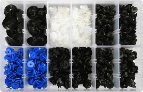 Набір кріплень обшивки YATO YT-06652 (кліпси і пістони для Opel та інших авто)