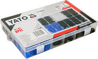 Набір кріплень обшивки YATO YT-06652 (кліпси і пістони для Opel та інших авто), фото 3