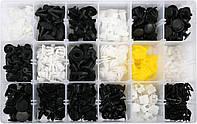 Набор креплений обшивки YATO YT-06656 (клипсы, пистоны для Honda и других авто)