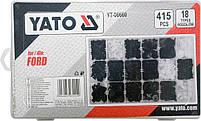 Набор креплений обшивки YATO YT-06660 (клипсы, пистоны для Ford и других авто), фото 2