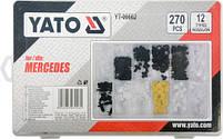 Набор креплений обшивки YATO YT-06662 (клипсы, пистоны для Mercedes и других авто), фото 2