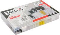 Набор креплений обшивки YATO YT-06662 (клипсы, пистоны для Mercedes и других авто), фото 3