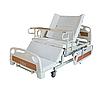 Медичне функціональне електро ліжко з туалетом і боковим переворотом MIRID E39. Ліжко для високих людей. Туалет на пульті., фото 2