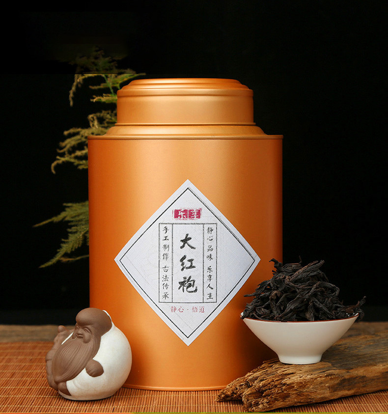 Китайський чай Да Хун Пао 500 гр. Premium GOLD (подарункова упаковка)