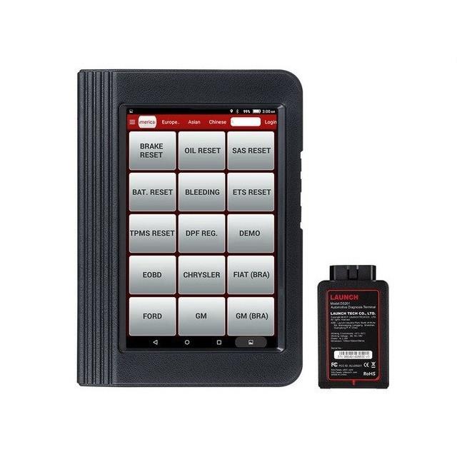 Автосканер мультимарочный LAUNCH X431 V. Для диагностики всех электронных систем авто. Онлайн обновления