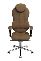 Эргономичное кресло KULIK SYSTEM GRAND Бронзовое 404, КОД: 1335622
