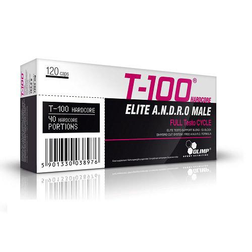 Тестостероновый бустер Olimp T-100 Elite Andro Male 120 капс
