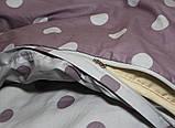 Полуторный комплект постельного белья из хлопка Полуторний комплект постільної білизни на молнии S345, фото 7