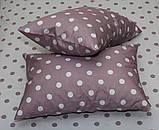 Полуторный комплект постельного белья из хлопка Полуторний комплект постільної білизни на молнии S345, фото 5