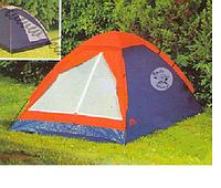 Палатка Туристическая 2*1.5*1.1 м, Двухместная палатка, Палатка на двоих, Палатка однослойная для кемпинга