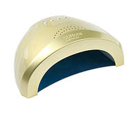 УФ/LED лампа для сушки гель-лаков SUNone Professional 48 Вт (золотая)
